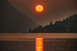 Porlezza and Lugano lake