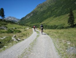 Cycle paths in the Intelvi Valley
